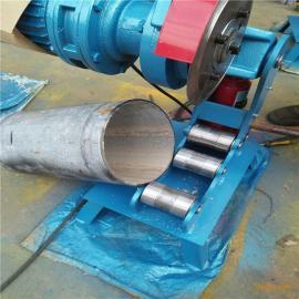 腾宇牌电动液压切管机TYQG-325切管机无毛刺消防镀锌管切管机