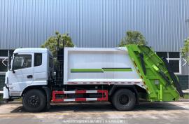 10吨压缩垃圾车 后装式垃圾车 垃圾清运车