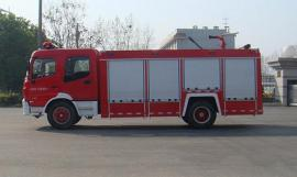 JDF5140GXFSG50/E型水罐消防车|东风天锦5.5吨消防车