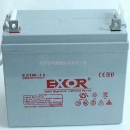 EXOR蓄电池EX38-12 12V38AH 埃索UPS蓄电池
