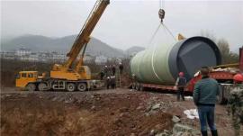 雨水提升泵站-一体式预制污水泵站厂