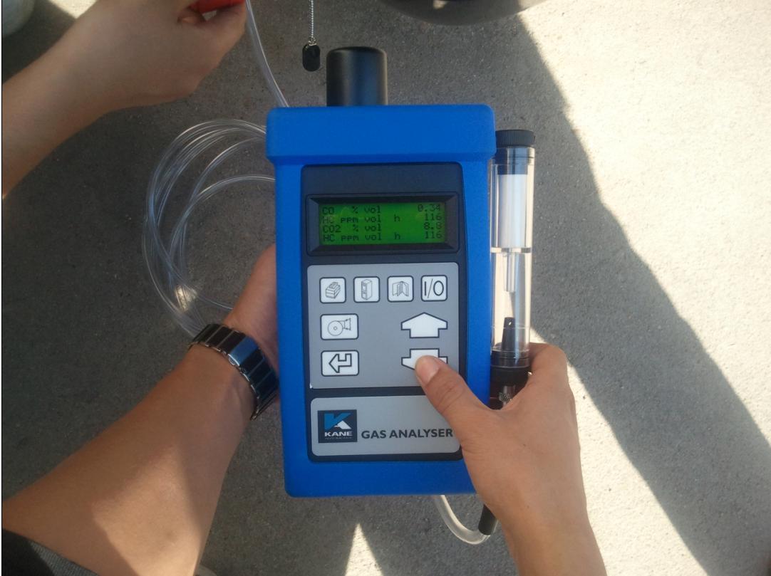 便携式汽车尾气检测仪用哪款好?凯恩AUTO5-1尾气检测仪