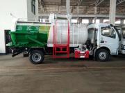 餐厨垃圾车 更新换代8吨餐厨垃圾清运车
