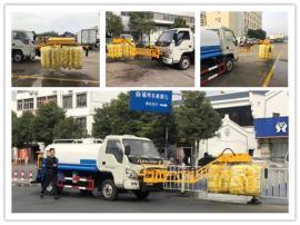 国六12吨护栏清洗机 国六大型洗扫车