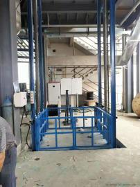 移动式升降机 液压导轨式升降货梯生产定做