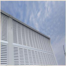 高速公路镀锌板声屏障 安平县喜振金属丝网制品有限公司
