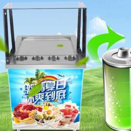 炒酸奶的利��,炒酸奶�C�O�溆梅�,小型商用酸奶�C