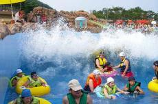 泳洁水处理专业规划水上乐园设施设备 人工造浪机 海啸池