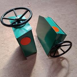 起重机轨道方向盘式手动夹轨器 行车防风装置
