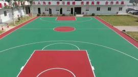 硅PU丙烯酸球场地坪塑胶跑道压花地坪透水混凝土自流平地坪漆