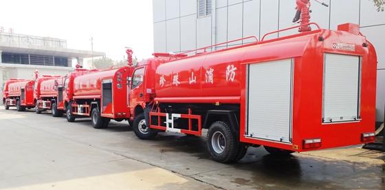 国五东风天锦7吨水罐消防车 7吨水罐消防车