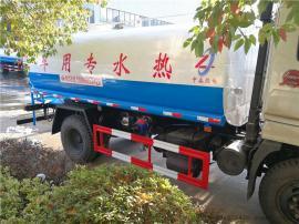 东风专底热水车 东风专底后八轮22方保温水罐车