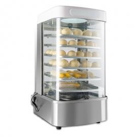 共好711蒸包子机商用全自动馒头机器玻璃蒸柜保温台大型便利