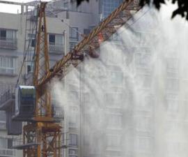 塔吊喷淋|塔吊喷淋系统|塔吊喷淋降尘系统-诺普达*咨询
