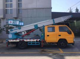 高空作业30米32米蓝牌进口云梯车配置