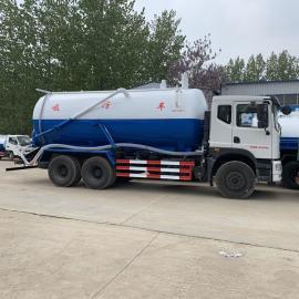 油田专用东风牌大型吸污车
