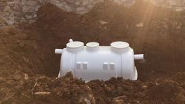 玻璃钢化粪池家用改造-装配式三格化粪池尺寸规格