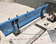 液压翻板坝 底轴钢坝 合页坝 常年加工制作 安装维修