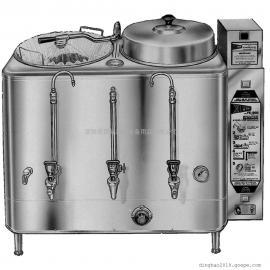 原装美国斯威Cecilware FE200 2*6加仑双槽咖啡鐣 (单相/三相)