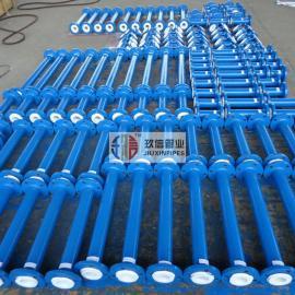 制药厂有机溶剂输送用衬四氟管道选型标准