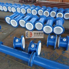 化肥厂有机溶剂输送用衬四氟管道*/生产周期