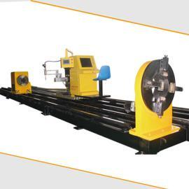 管桁架加工厂 八轴相贯线切割机 异型管切割机