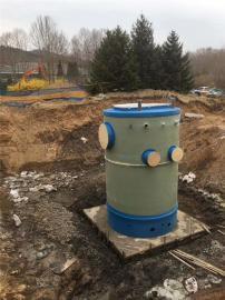 雨水处理一体化泵站定制-地埋式一体化预制泵站厂