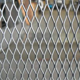 装饰商城隔离菱形钢板网-不锈钢、喷塑钢板网 定尺 型号加工生产