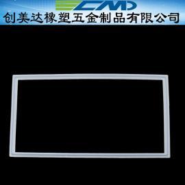 车间设备方形密封硅胶异形件制造 矩形密封硅胶垫圈环保材料