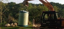 雨水处理一体化泵站定做-预制污水提升泵站定做