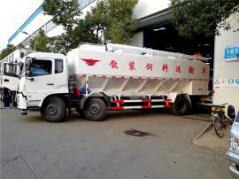 东风天锦15吨养殖场散装饲料车