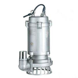WQP全不锈钢污水泵厂304铸造耐腐蚀潜水泵不锈钢潜水排污泵