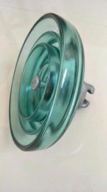 盘形悬式玻璃绝缘子U160B 高压钢化玻璃绝缘子