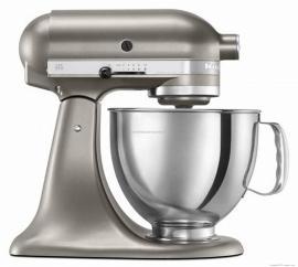 进口凯膳怡和面机KitchenAid 5KPM5CSM 升降式厨师机 (金属银色)