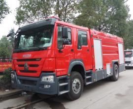 JDF5163GXFSG50型水罐消防车|重汽T5G5吨消防车