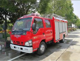 JDF5070GXFSG20/Q型水罐消防车|五十铃3吨水罐消防车