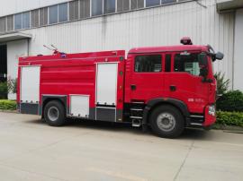 JDF5190GXFGL70/Z型干粉水联用消防车