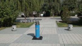 单盆户外饮水台,广场户外直饮水机,公园圆柱户外饮水台