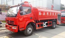 国五东风3.5吨水罐消防车