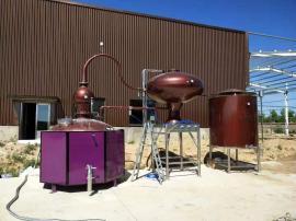 森科�C械2000升夏朗德蒸馏设备(紫铜材质 蒸馏白兰地)生产商