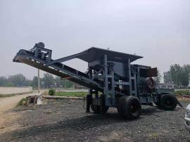 矿山石头粉碎机报价 1215型移动破碎机碎石机参数