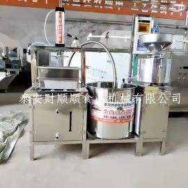 多功能豆腐机 全自动磨浆煮浆压榨成型一体机
