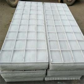 安平巨木塑料丝网除沫器 聚丙烯丝网除沫器 格栅PP丝网除沫器