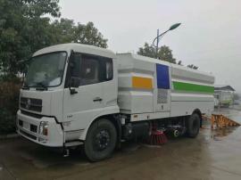 东风5-18方清扫车(强劲助力可装12-15吨)