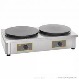 商用双头可丽饼机ROLLER GRILL CDE350双头班戟炉(原型号350ED)