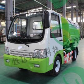 小型垃圾车电动驾驶钩臂车车厢可卸式垃圾清运车