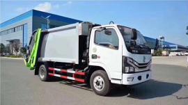 *新国六东风多利卡6立方压缩垃圾车