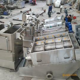 废水处理设备 不锈钢叠螺污泥脱水机