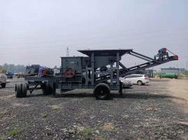 砂石制砂机型号 节能环保移动破碎机 碎石机
