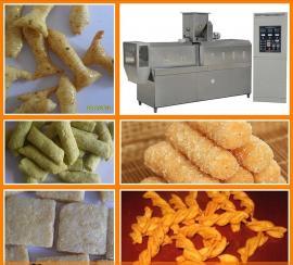 多功能食品膨化机 定做大中小型休闲膨化食品生产加工机械设备